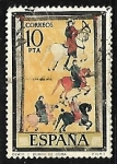 Stamps Spain -  Códices - Burgo de Osma
