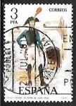 sellos de Europa - España -  Uniformes militares - Coronel de Infantería de linea