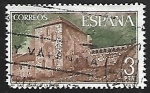Stamps Spain -  Monasterio de San Juan de la Peña - Vista General