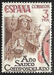 Stamps of the world : Spain :  Año Santo Compostelano - Virgen Peregrina (Pontevedra)