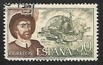 Sellos de Europa - España -  Personajes españoles -