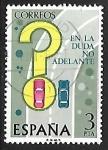 Stamps Spain -  Seguridad Vial - Adelantamiento en curva