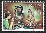 Sellos de Europa - España -  Europa CEPT - Jarrón de Talavera