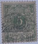 Stamps Germany -  DEUTSCHE REICH POST