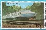 Stamps North Korea -  Tren eléctrico