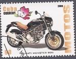 sellos de America - Cuba -  Motos - Ducati Monster 900