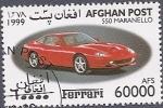 sellos de Asia - Afganistán -  Ferrari 550 Maranello