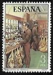 Sellos de Europa - España -  Servicios de Correos - Ambulante de correos