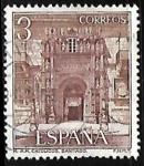 Stamps Spain -  Serie turística. Paradores Nacionales - Hostal de los Reyes Católicos (Santiago de Compostela)