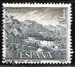 Sellos de Europa - España -  Serie turística. Paradores Nacionales - Parador de la Cruz de Tejeda (Gran Canaria)