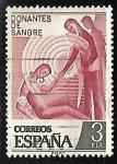 Sellos de America - España -  Donantes de Sangre