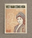 Sellos de Asia - Vietnam -  Mujer Djarai