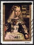 Stamps Asia - Benin -  COL-25º ANIVERSARIO UNICEF-LAS MENINAS (FRAG.) VELASQUEZ (1599-1660)