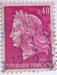 Stamps France -   Marianne de Cheffer