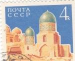 Sellos de Europa - Rusia -  SINAGOGA