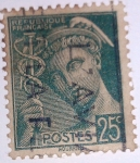 Stamps : Europe : France :  type mercure