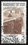 Sellos de Europa - España -  Bimilenario de Lugo - Murallas