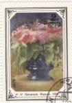 Stamps Russia -  PINTURA- JARRON CON FLORES