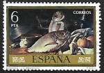 Stamps of the world : Spain :  Luis Eugenio Menéndez - Bodegones