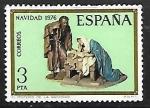 Stamps Spain -  Navidad 1976 - El misterio de la Natividad