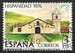 Stamps Spain -  Hispanidad. Costa Rica - Misión de Orosi