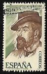 Stamps Spain -  Personajes españoles  - Francisco Tárraga