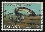 Stamps Spain -  Fauna Hispánica - Anguila