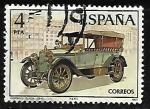 Stamps Spain -  Automóviles antiguos españoles - Hispano-Suiza