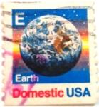 Sellos de America - Estados Unidos -  Earth