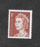 Sellos de Oceania - Australia -  394 - Isabel II