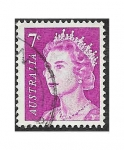 Stamps Australia -  402A - Isabel II