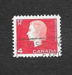 Stamps Canada -  404 - Isabel II