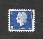Sellos de America - Canadá -  405 - Isabel II