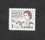 Sellos de America - Canadá -  454 - Isabel II