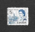 Sellos de America - Canadá -  458 - Isabel II