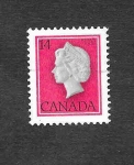 Stamps : America : Canada :  716 - Isabel II