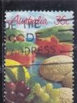 Sellos de Oceania - Australia -  FRUTAS