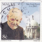 Stamps : Europe : Malta :  SAN GORG PRECA