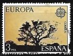 Stamps Spain -  Europa CEPT - Parque Nacional de Doñana