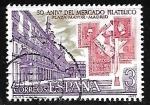 Sellos de Europa - España -  L Aniversário de l mercado filatélico de la Plaza Mayor de Madrid