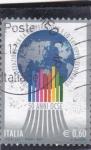 Stamps Italy -  50 ANIVERSARIO OCSE