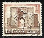 Stamps Spain -  Serie Turística Puerta de Toledo (Ciudad Real)