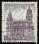 Stamps Spain -  Serie Turística - Catedral de Jaen