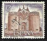 Sellos de Europa - España -  Serie Turística - Puerta de Bisagra (Toledo)