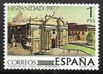Sellos de Europa - España -  Hispanidad. Guatemala- Iglesia de San Francisco