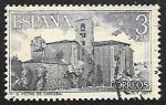 Stamps Spain -  Monasterio de San Pedro de Cardeña - Vista General