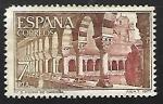 Stamps Spain -  Monasterio de San Pedro de Cardeña  - Claustro