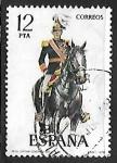Stamps Spain -   Uniformes Militares - Capitán General