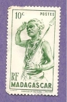 Sellos del Mundo : Africa : Madagascar : INTERCAMBIO