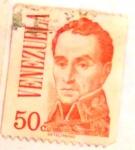 Stamps : America : Venezuela :  Simón Bolívar